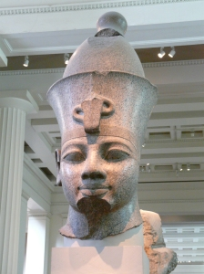 Statue of the god Osiris. Photo taken at the British Museum