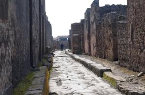 Road in Pompeii